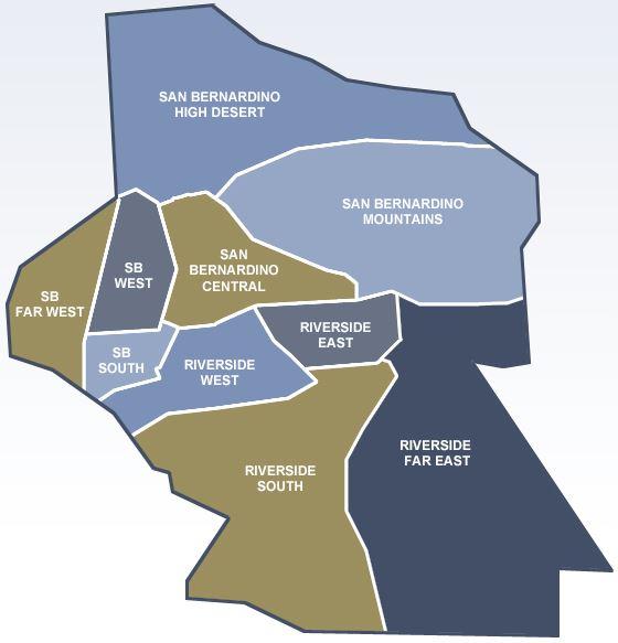 Valley City Jurupa Map