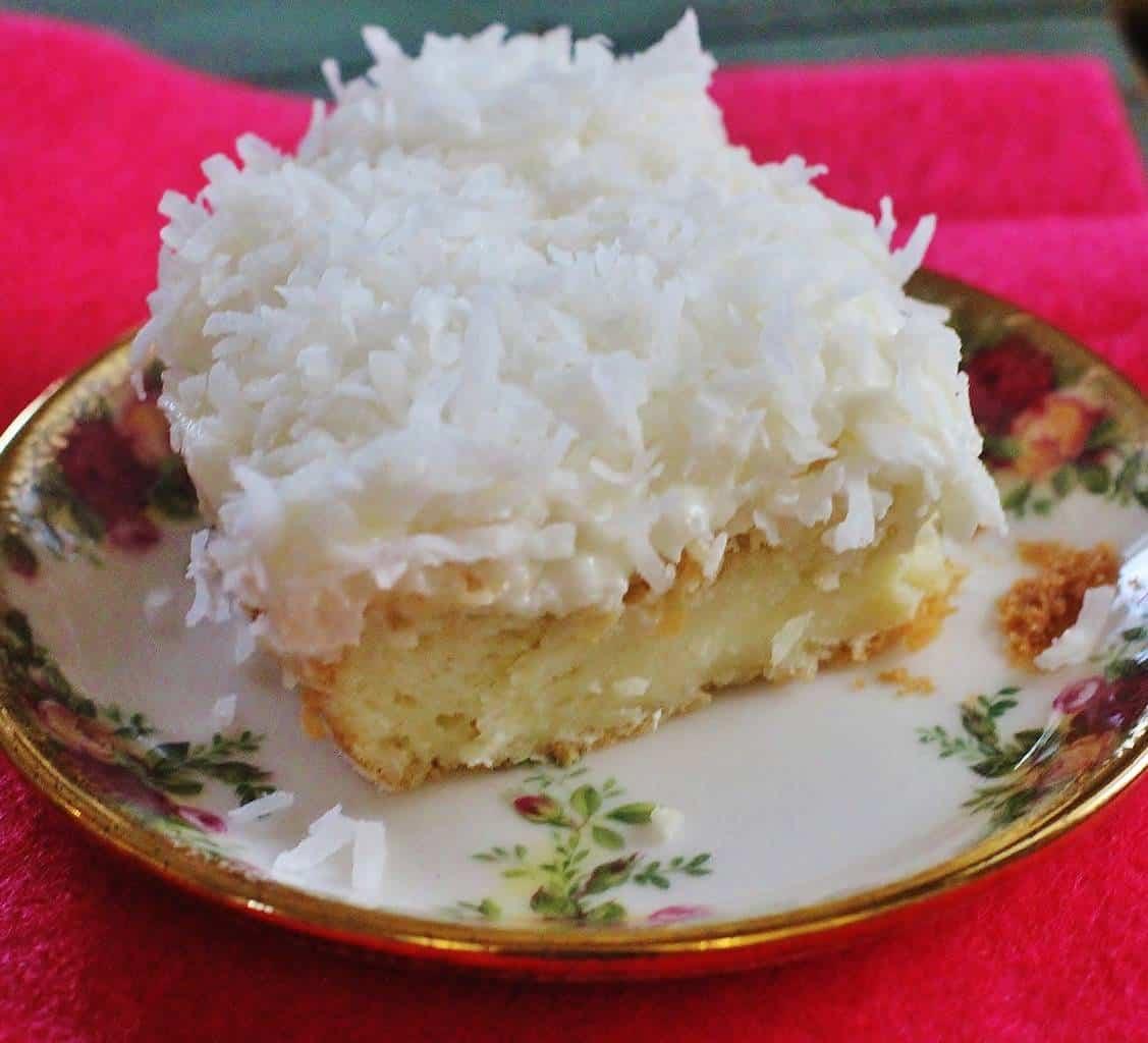 Easy Coconut Sheet Cake