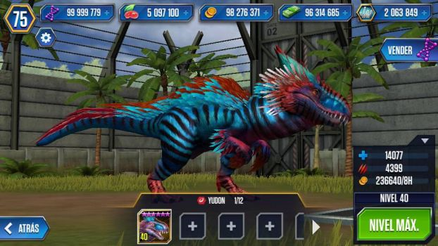 Jurassic World Indominus Rex Level 100