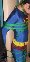 Superboy tied up 1 by ozropeman