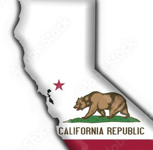 HD Decor Images » California  USA State  button flag map shape  Stock photo and     California  USA State  button flag map shape