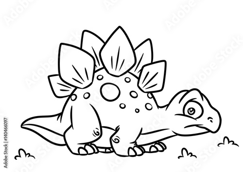 stegosaurus coloring page # 10