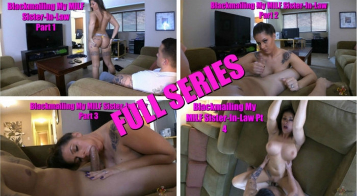 Clover Baltimore – Blackmailing my Milf Sister in law Comlete series