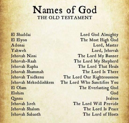 Names Of God – Take Charge World