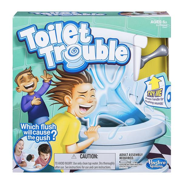 Tales from the Dad Side - Toilet Trouble