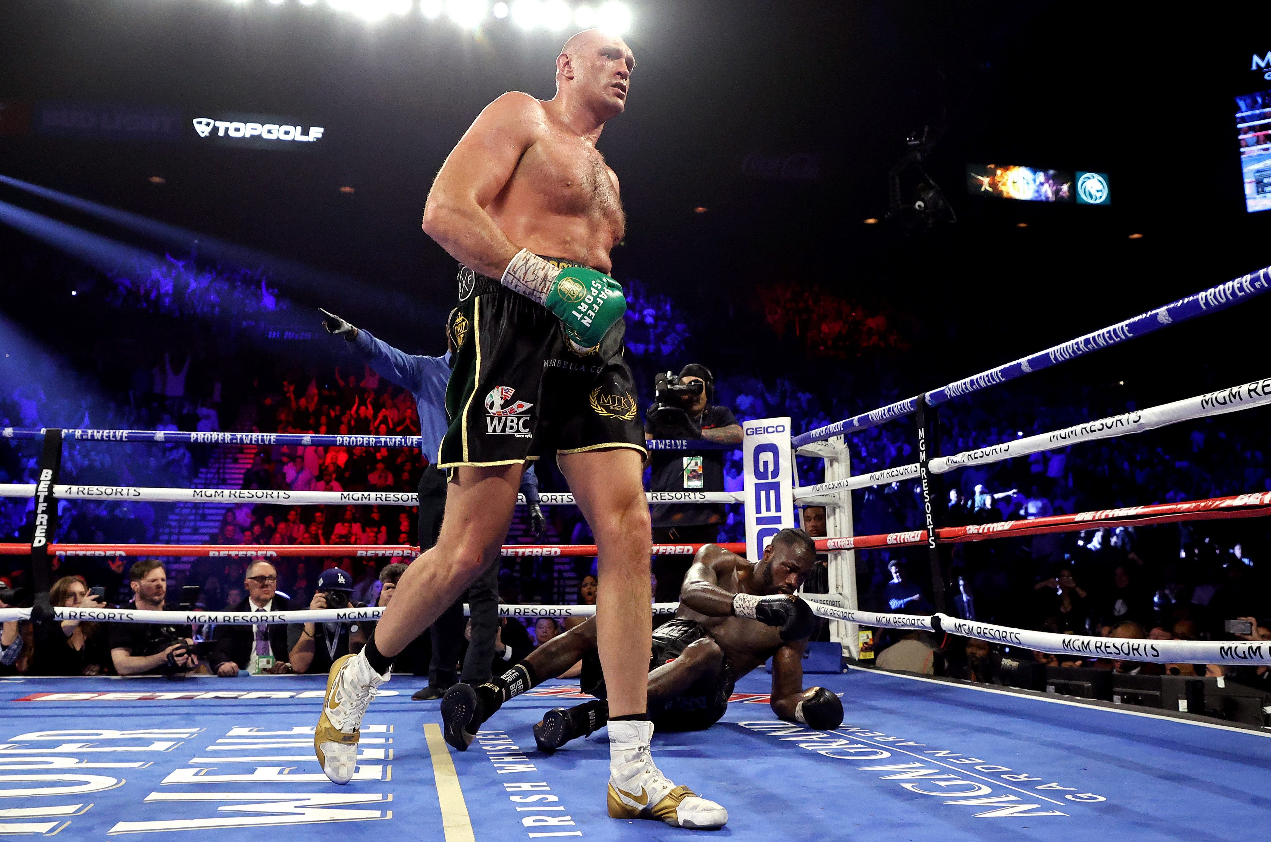 Wilder's camp threw in the towel in the seventh round of the second fight with Fury