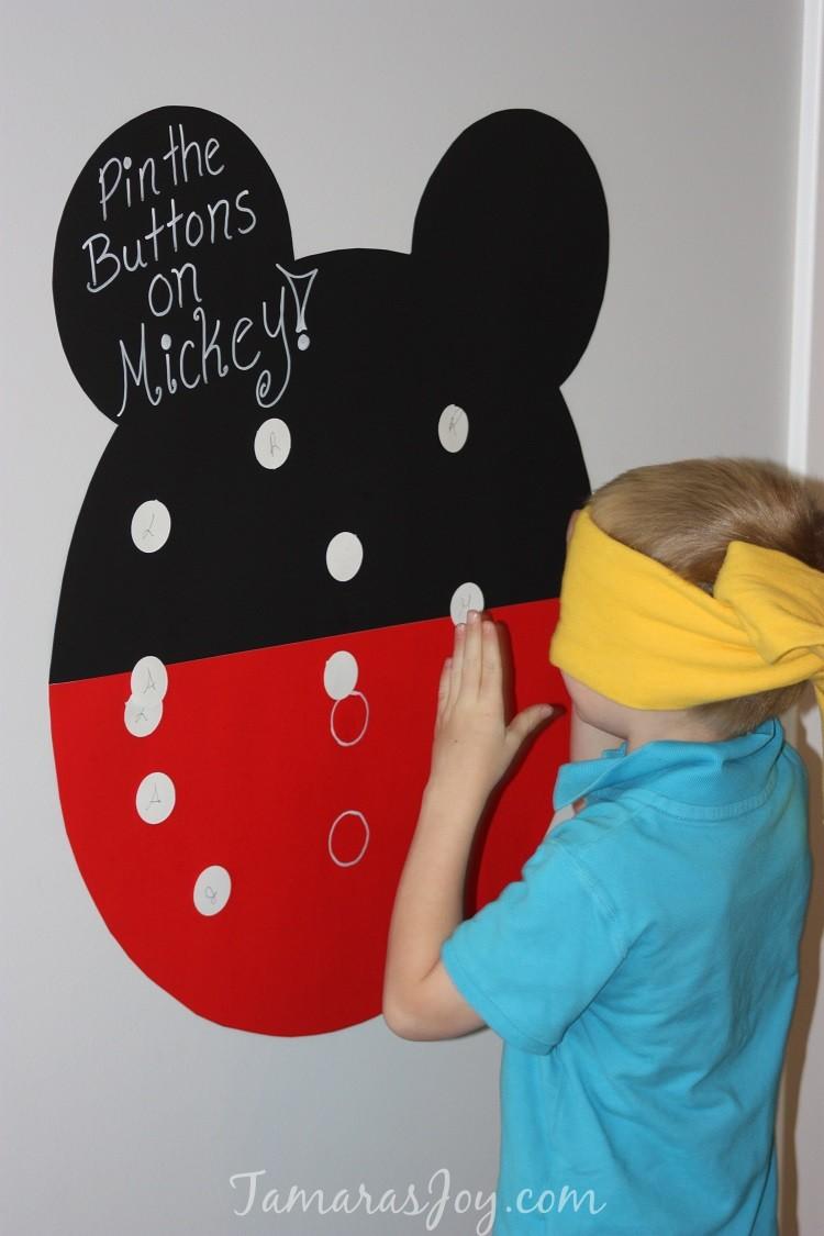 Diy Mickey Mouse Birthday Party Decor ⋆ Tamara S Joy