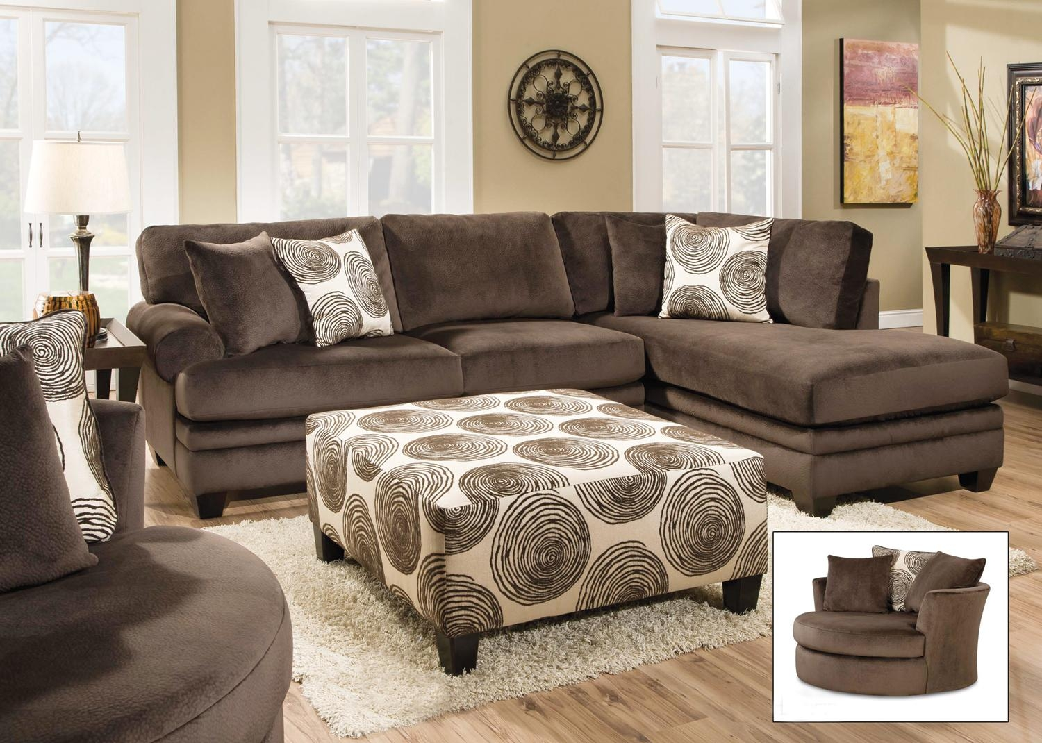 Light Brown Leather Ottoman Coffee Table