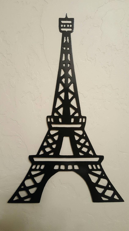 Black Eiffel Tower Hobby Lobby