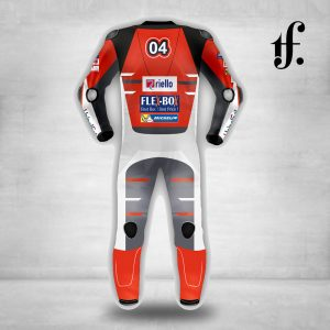 Andrea Dovizioso Ducati MotoGP 2018 Leather Racing Suit