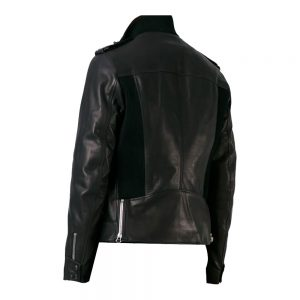 Classic Black Leather Jacket