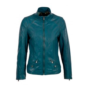 Iris Women Fashion Style Leather Jacket