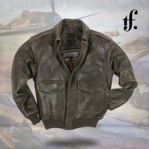 100 Mission A2 Pilot's Leather Jacket