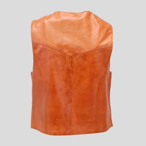 Classic looking vintage western style leather vests