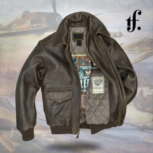 Glenn Miller A-2 Flight Leather Jacket