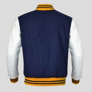 Leather Varsity Letterman Jacket