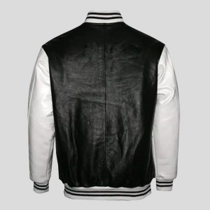 Mens Varsity Leather Jacket