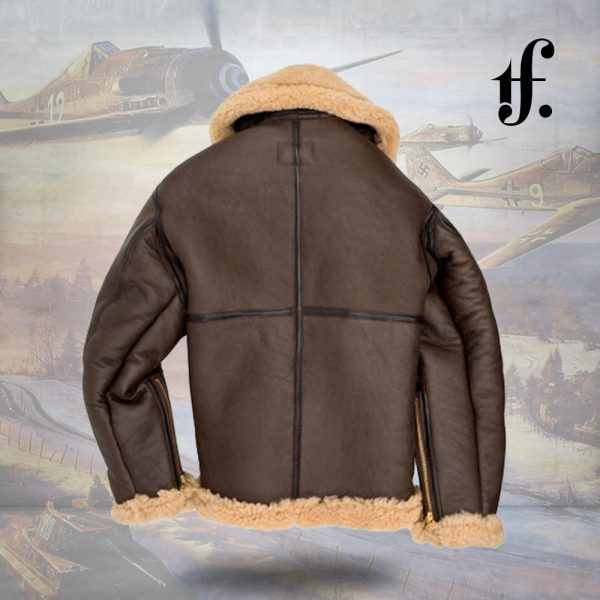 RAF Sheepskin Bomber B3 Leather Jacket
