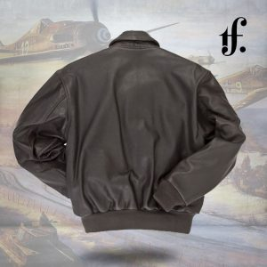 Reissue A-2 Leather Long Jacket