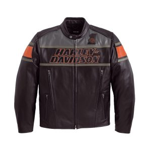 Mens Classic Harley Davidson Rumble Leather Jacket