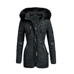 High Quality Winter Parka Quilted Hood Coat Womens Jacket - Tapfer
