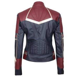 Avengers Endgame Captain Marvel Genuine Leather Jacket
