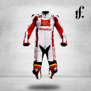 Honda San Carlo 2011 Motogp Leather Suit