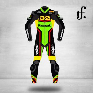 Kawasaki Ninja Motorbike Leather racing suit & Kawasaki Biker Suit 2019
