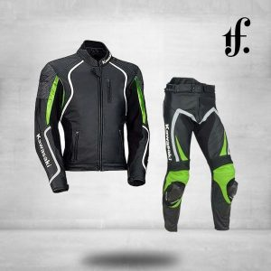 Kawasaki Ninja Motorcycle Racing Leather Suit