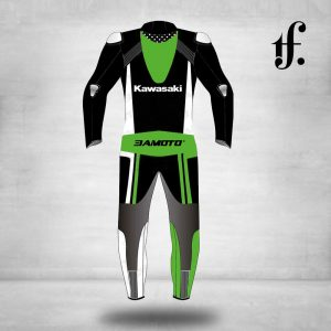 Kawasaki Racing Team Replica Motorbike Leathers