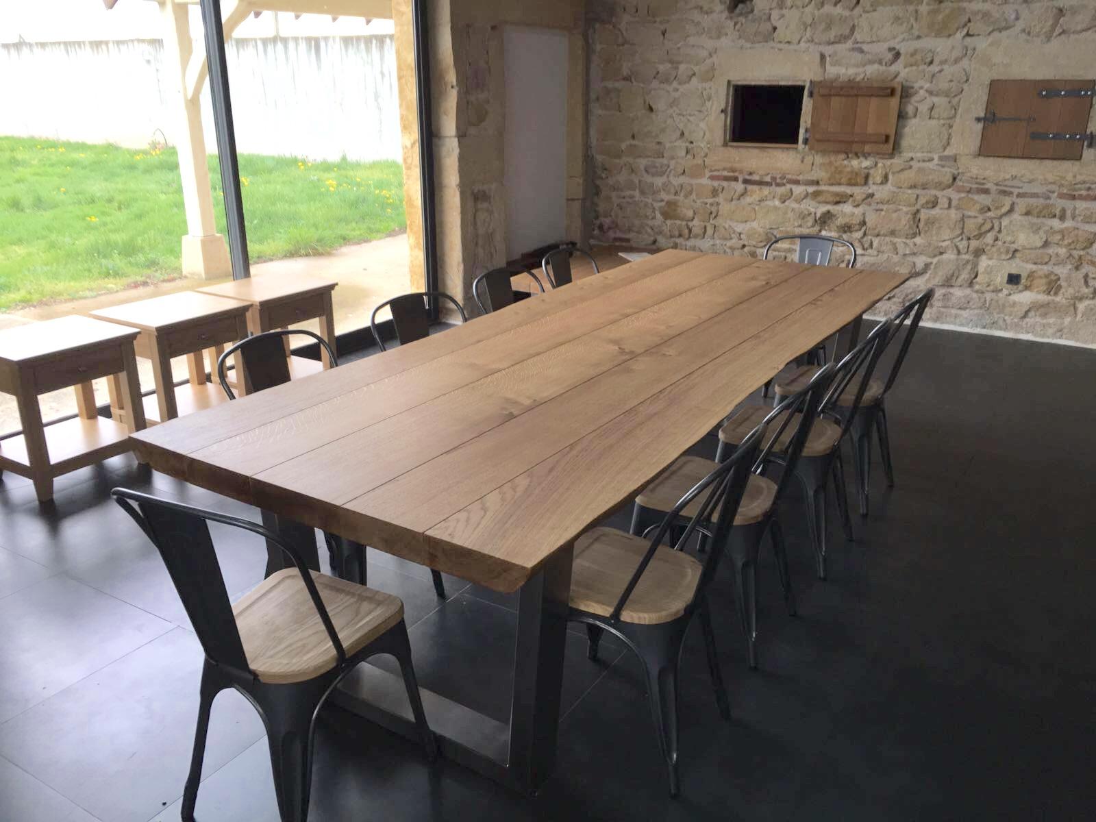 Oak Dining Table 07