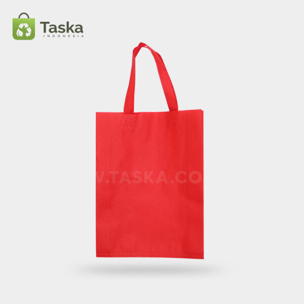 Tas-Press-Spunbond-Handle—-Merah-30×40-Cm—Sisi-Depan