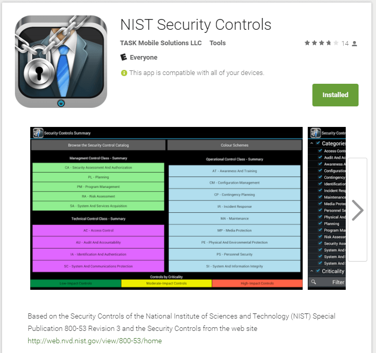 Mobile Security Nist