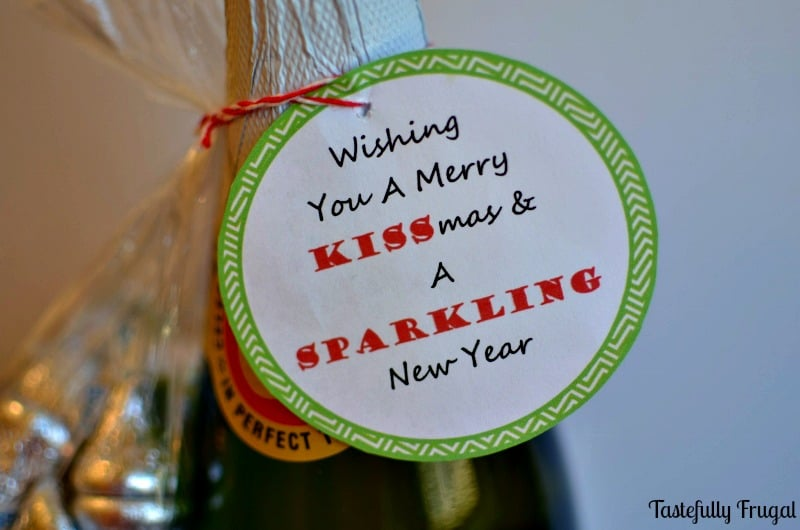 12 Frugal Days of Christmas Day 10: Wishing You A Merry Kissmas & A Sparkling New Year