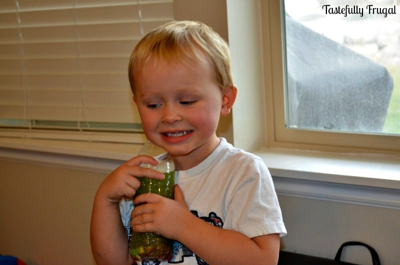 12 Frugal Days of Christmas Day 9: Christmas Quiet Bottle: A Mom's Best Friend