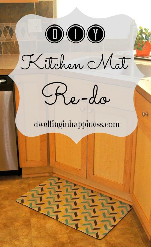 Kitchen Mat Re-Do