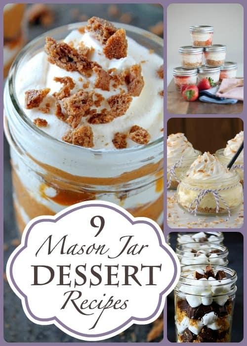 9 Mason Jar Recipes