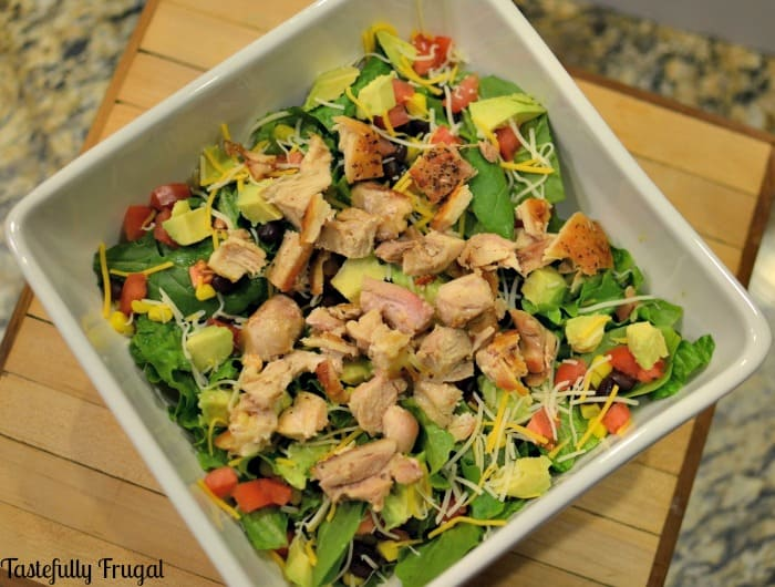 Southwest Chicken Salad: A Salad Kids Will Actually Eat