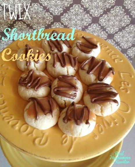 Twix Shortbread Cookies