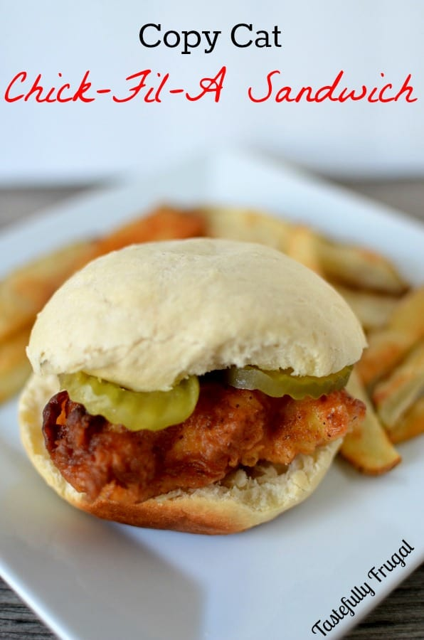 Copy Cat Chick-Fil-A Sandwich: If you love Chick-Fil-A then you will love these super easy, juicy chicken sandwiches.