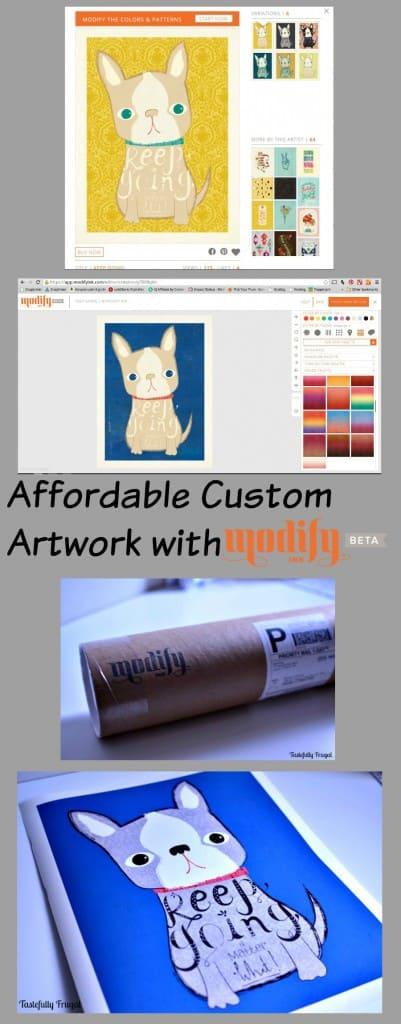 Affordable Custom Artwork with Modify Ink