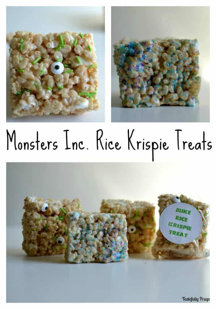 Monster Rice Krispie Treats www.tastefullyfrugal.org