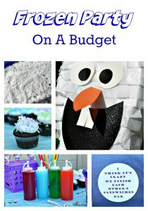 Frozen Party On A Budget www.tastefullyfrugal.org #ad #BDayOnBudget #CollectiveBias @Walmart