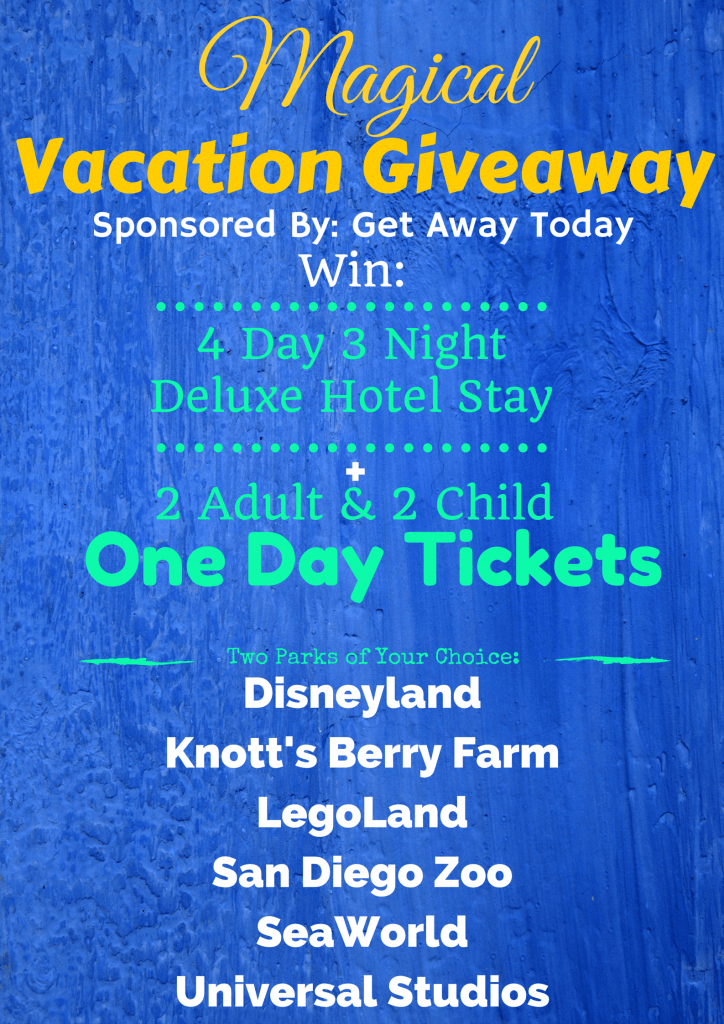 Magical Vacation Giveaway www.tastefullyfrugal.org