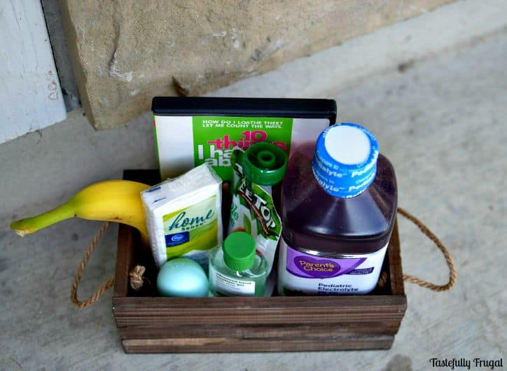 Get Over The Flu Fast Gift Box