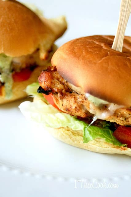 Grilled Cafe Rio Chicken Sliders 3