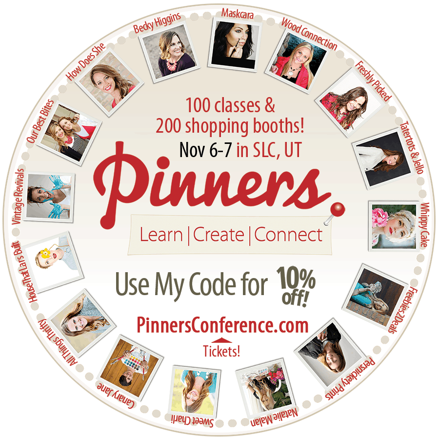Pinners Conference 2015 {AND Exclusive Coupon Code} Tastefully Frugal