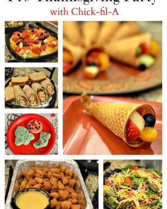 Pre-Thanksgiving Party Made Easy | Tastefully Frugal ad #CFAcatering