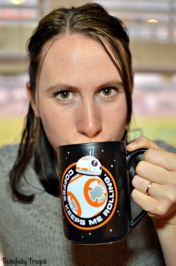 Storm Trooper Hot Chocolate | Tastefully Frugal ad #Hallmark