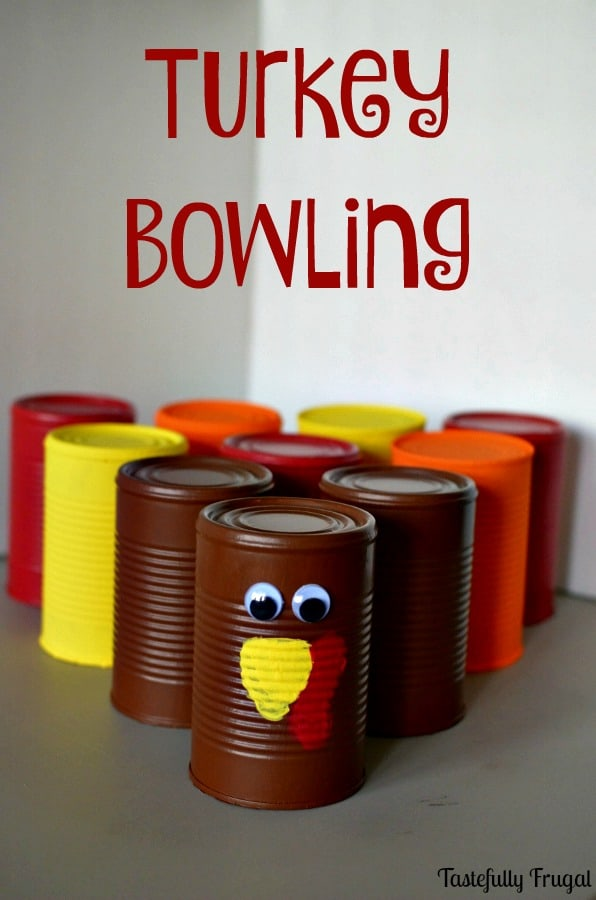 Turkey Bowling: A Fun and Free Thanksgiving Activitiy  Tastefully Frugal